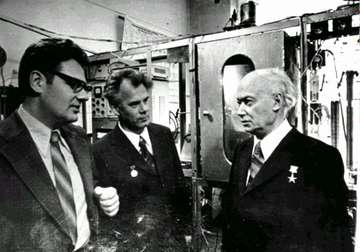 In the Laboratory of Dehydrogenation with R.A. Buyanov and G.K. Boreskov, 1978.